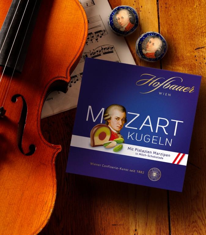 Mozartkugeln Milchschokolade