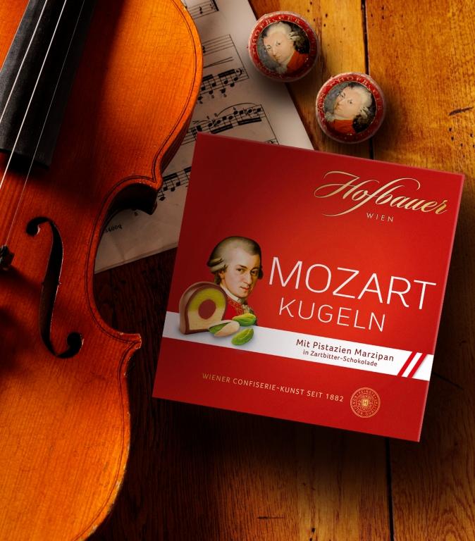 Mozartkugeln Zartbitter