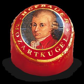 Mozartkugel Rot