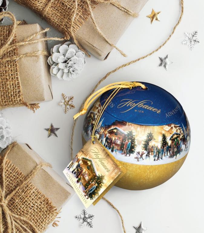 Adventsleuchten Weihnachtskugel