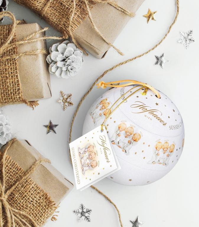 Süsses Christkind Weihnachtskugel
